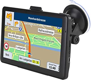 GPS Navigation for Car, 7 inch HD Touch Screen Car GPS, 8GB GPS Navigator System for Cars with USA, Canada, Mexico Lifetime Map Free Update