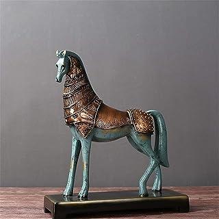 樹脂工芸オフィスデコレーション馬の成功タンマデコレーションリビングルームTVキャビネットデコレーション