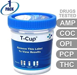 MiCare [1pk] - 5 Panel Multi Drug Test Cup (AMP/COC/OPI/PCP/THC) #MI-TDOA-154