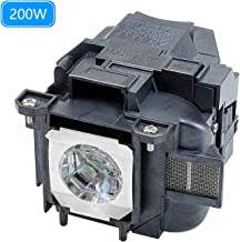 for EPSON ELPLP78 / V13H010L78 EH-TW490 EB-X18,EB-X24, EH-TW5100, EH-TW5200 EH-TW570, powerlite 965 Projector Replacemet Lamp by Molgoc (180days Warranty) (Without Filter)