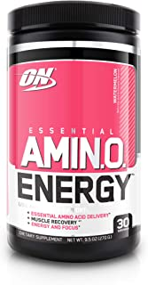 OPTIMUM NUTRITION Essential Amino Energy, Watermelon, Preworkout and Essential Amino Acids with Green Tea and Green Coffee...