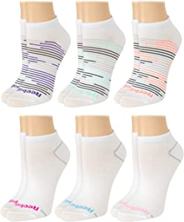 Reebok Women's Athletic Socks – Performance Low Cut Socks (6 Pack)