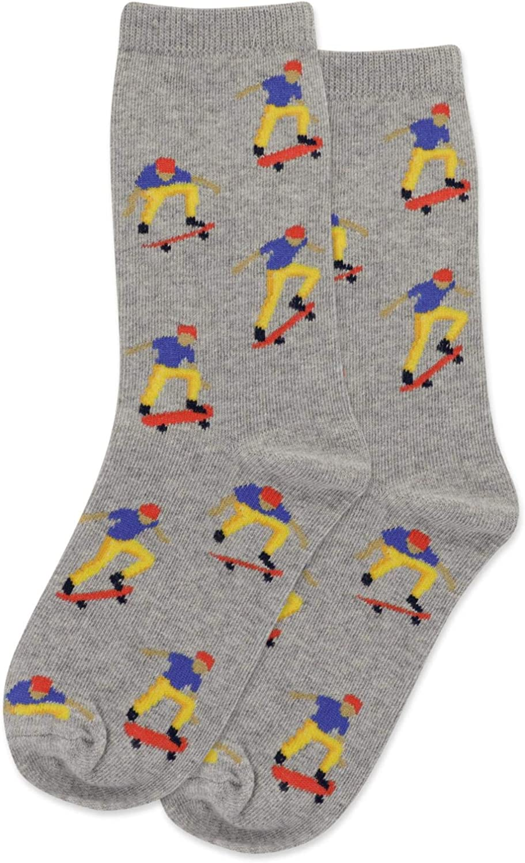 Hot Sox Kids Skateboarder Crew Socks