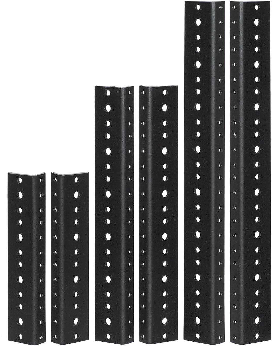 Reliable Hardware Company RH-8-SRR-A Popular Max 86% OFF popular Black Rack Rail