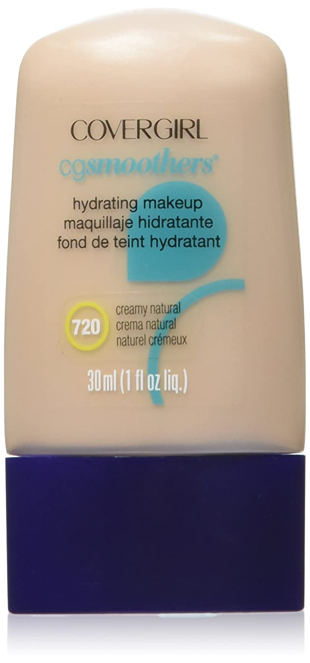 サンプル気づかない彼自身COVERGIRL CG SMOOTHERS ALL-DAY HYDRATING MAKEUP #720 CREAMY NATURAL