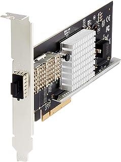 StarTech.com Dual Port 40G QSFP+ Network Card - Intel XL710 Open QSFP+ Converged Adapter - PCIe 40 Gigabit Ethernet Server...