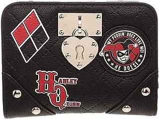 DC Comics Harley Quinn Locket Deluxe Bi-Fold Wallet