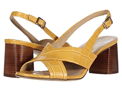 Naturalizer Azalea (Sunset Yellow Croco Print Leather) Women