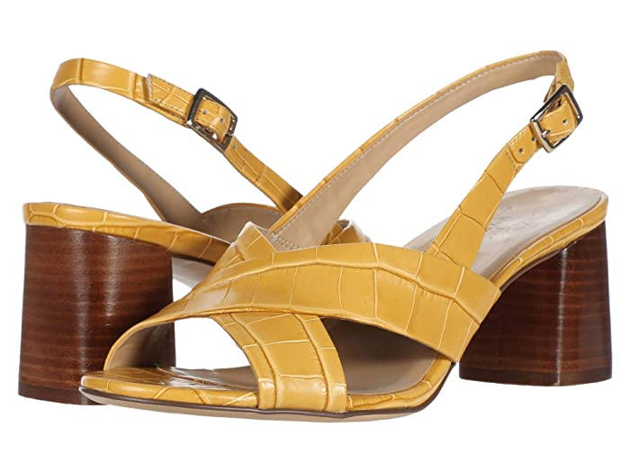 Naturalizer  Azalea (Sunset Yellow Croco Print Leather) Womens Sandals