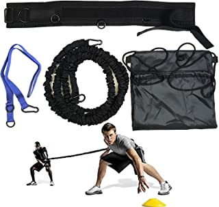 nobrand 360°Dynamic Speed Resistance Bands,Speed Bungee Band Trainer Belt to Improve Speed, Confrontation, Agility,Basketb...