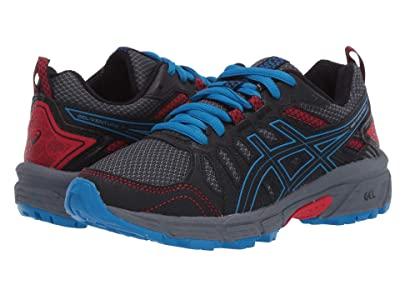 ASICS Kids GEL-Venture 7 (Little Kid/Big Kid) (Black/Directoire Blue) Boys Shoes