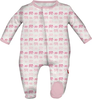 Magnificent Baby Baby Girls' Magnetic Footie