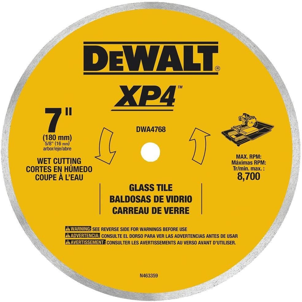 DEWALT Animer and price revision DWA4768 Continuous Rim Tile Limited time cheap sale Blade 7