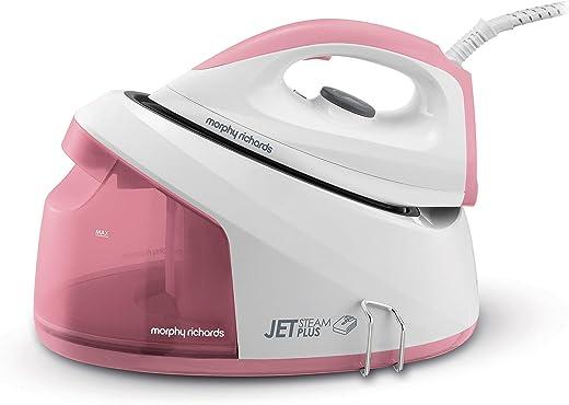 Morphy Richards Jet Steam Plus 333101 Compact Steam Generator Pink
