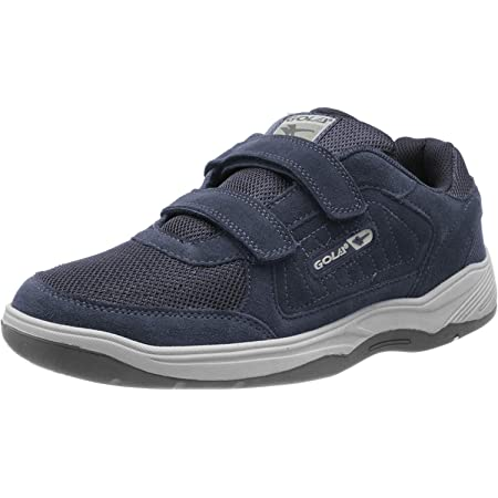 Gola Mens Belmont Wide Fit Coated Leather Trainers