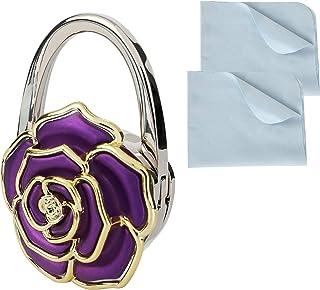 un sac à main avec strass en forme de fleur Turquoise Accessoires de sac à main Support de suspension pour sac à main