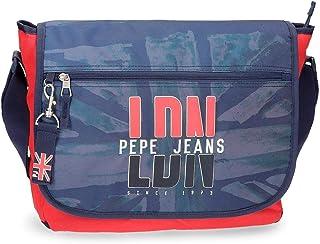 Pepe Jeans Dalton Mochila Tipo Casual, 11.78 litros, Color Azul