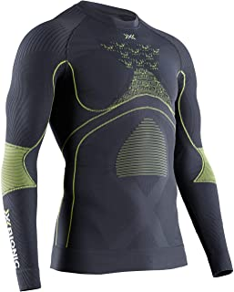 Energy Accumulator 4.0 Shirt Round Neck Long Sleeves Men Capa De Base Camiseta Funcional, Hombre