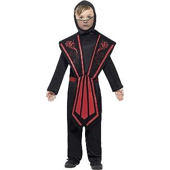 Smiffys - Disfraz de Ninja Infantil, Talla L (9 - 11 años ...
