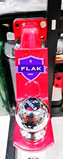 FLAK Trailer Hitch Ball Mount with 2-Inch Trailer Ball & Hitch Pin, Fits 2-Inch Receiver, 6,000 lbs. GTW, 2-Inch Drop (B T...