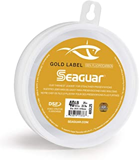 Seaguar Gold Label Fluorocarbon Leader Wheel 25 Yards
