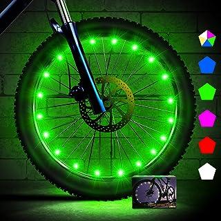 Creatour Bike Wheel Lights with Batteries LED Waterproof Bike Spoke Light Super Bright Cycling Bicycle Light, Cool Kids Bi...