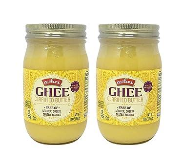 Carlini Ghee Paleo Friendly Lactose/Casein/Gluten Free Clarified Butter: 2 Pack (26 oz.)