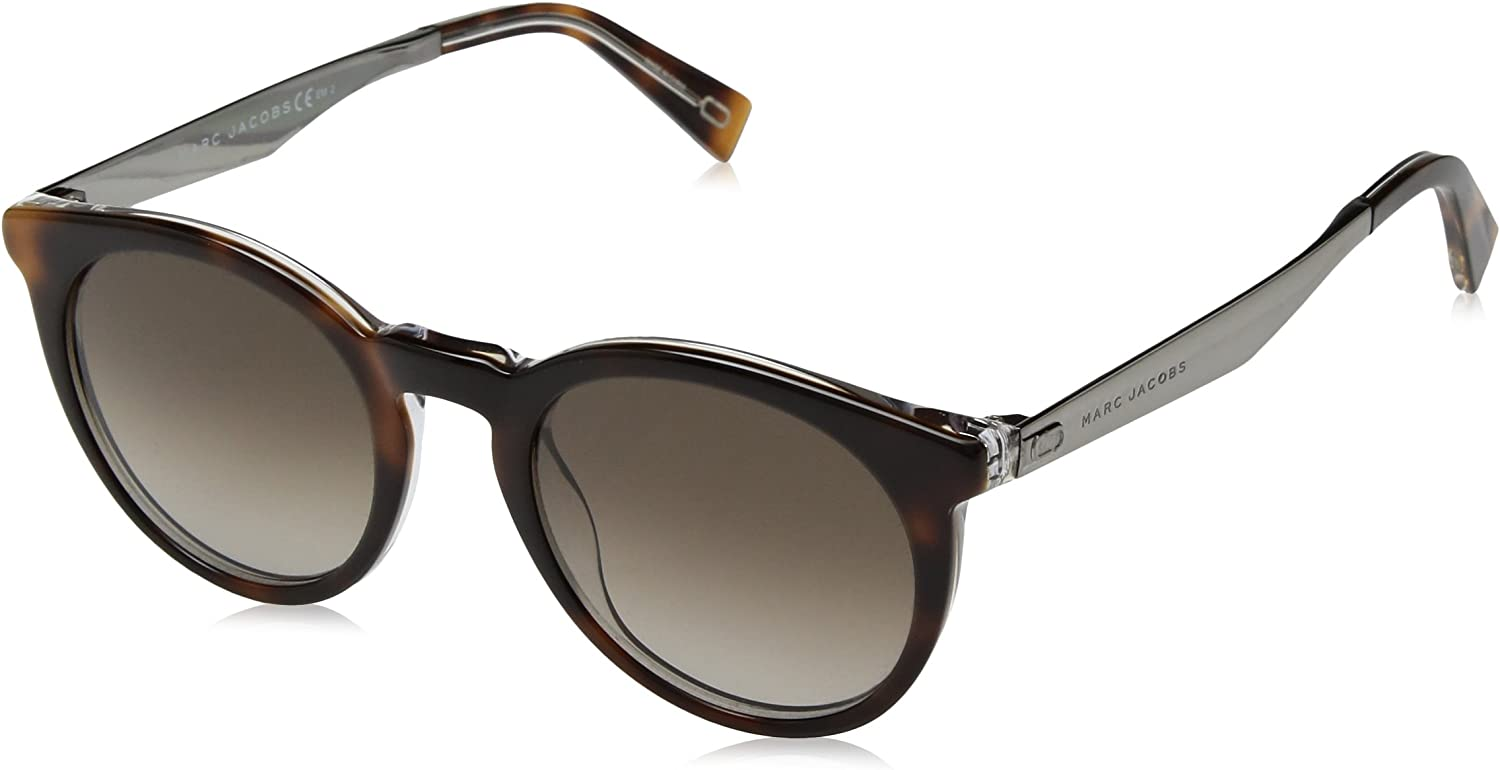 Marc Jacobs Women's Marc204s Round Sunglasses HAVNCRYST 47 mm