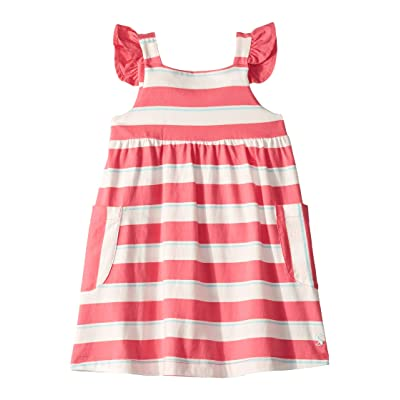 Joules Kids Bunty Dress (Toddler/Little Kids) (Pink/White Stripe) Girl