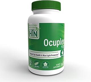 Ocuplex® Plus para ojos más saludables ahora con 10 mg de luteína y 2 mg de zeaxantina (30 cápsulas vegetarianas) (60)