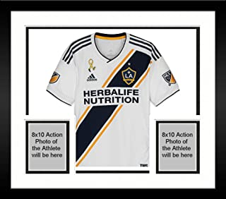 Framed Ola Kamara LA Galaxy Autographed Match-Used White #11 Jersey from the 2018 MLS Season - Fanatics Authentic Certified