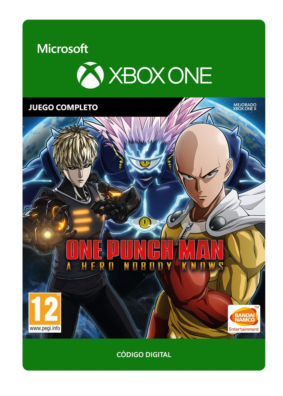 One Punch Man: A Hero Nobody Knows Standard   Xbox One - Código de ...