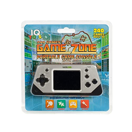 IQ Toys 240 Preloaded Games On 1 Portable Game Console