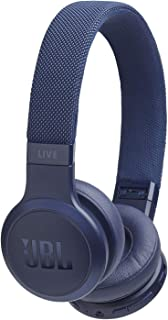 JBL Live 400BT - On-Ear Wireless Headphones - Blue