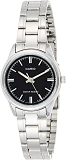 Casio Casual Analog Display Watch For Women LTP-V005D-1A, Black