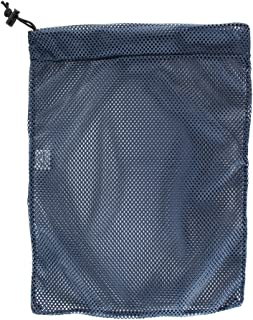 Mesh Bag USA Made (Small, Medium, or Large) 550 Paracord Drawstring Bag - Ventilated Washable Reusable Stuff Sack for Laundry, Gym Clothes, Swimming, Camping - (14 Colors)