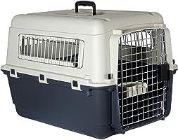 Karlie 513772 Pudełko Transportowe dla Zwierząt, Szary/Biały, M