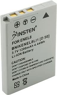 LI-ION RECHARGEABLE BATTERY PACK FOR DITIGAL CAMERA MODEL NIKON COOLPIX EN-EL8 ENEL8
