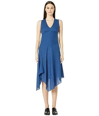 Paul Smith Blue Plaid Dress (Cobalt Blue) Women