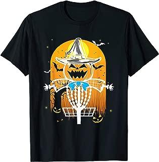 Bogy Pumpkin funny Dics Golf Halloween Costume gifts T-Shirt