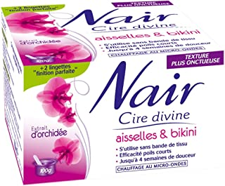 Nair - Cire Divine Aisselles & Bikini à l'extrait d'Orchidée - 100 g