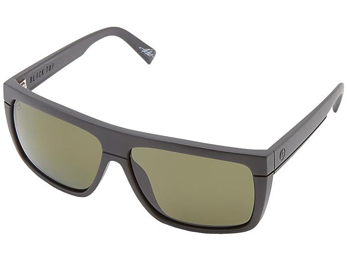 Electric Eyewear Black Top Polarized (Matte Black/M1 Grey Polar) Sport Sunglasses