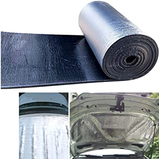 Roof Insulation Sound Cotton Double Aluminium Bubble Foil 5mm for Walls Car Sides Hood Engine Sticker Self-adhesive PlateR...
