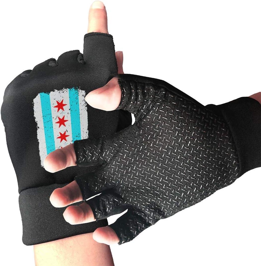 Men Women Chicago Flag Vintage Glove Distressed Arthritis 1 year warranty Sale item Copper