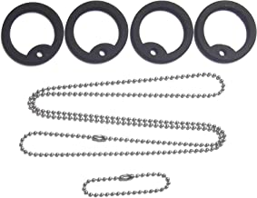 1 X Dog tag repair tune up kit / replacement Stainless chains and silencers