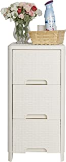 Mind Reader 3BRDR-IVO 3 Drawer System,  Storage Organizer Unit,  Closet,  Entryway,  Bedroom,  Bathroom,  Ivory,  White