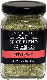 Evolution Salt Himalayan Pink Spice Blend, Red Meat, 2.3 oz