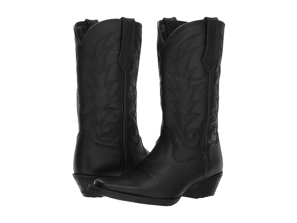 Durango Western 11 Narrow Square Toe (Black Beauty) Cowboy Boots