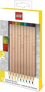 comprar comparacion LEGO - Pack de 9 lápices de colores nº2 con toppers (51515)