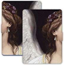YiGooood - Kindle Case - Kindle Paperwhite 2020 - Protective Cover for Kindle 1/2/3/4 (KPW 1/2/3, Angel Wings)